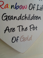 A Wooden Heart For A Grandparent